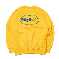"F-LAGSTUF-F ""ICE LOGO"" SWEAT (gold)"