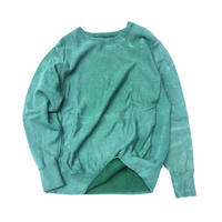 "THREE FACE  "" RW  crew neck"" (faded green)"
