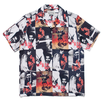 "WACKO MARIA ""仁義なき戦い"" S/S HAWAIIAN SHIRT (white)"