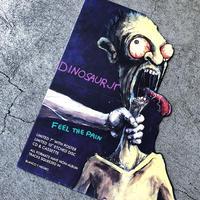 "1994 ""Dinosaur jr""  promotion display  (spice)"
