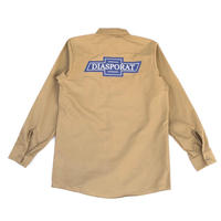 Diaspora skateboards / Chevy L/S Work Shirt (khaki)