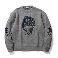 "F-LAGSTUF-F  ""Sheep KNIT ""(gray)"