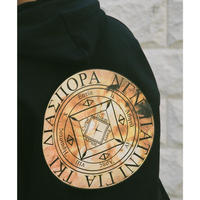 "Diaspora skateboards "" Chorus Magic Circle Hooded ""  (black)"