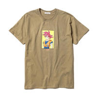"F-LAGSTUF-F x DRAGON BALL / ""GOKU"" Tee (PD(green))"
