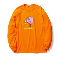 "F-LAGSTUF-F ""MONSTER"" L/S Tee (orange)"