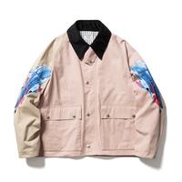 F-LAGSTUF-F × STYLIST TEPPEI × MEGURU YAMAGUCHI / Embroidery&Print JKT