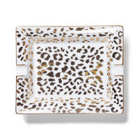 "WACKO MARIA ""Leopard ashtray(type-2)""  (white)"