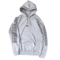 FORTY PERCENT AGAINST RIGHTS / COLLEGE HOODED 05 (gray)