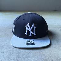 "'47 / ""CAPTAIN"" Yankees Cap (navy x grey)"