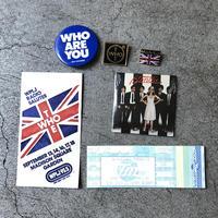 "VINTAGE   "" ticket , pins, badge,  etc.. "".(セット販売)"