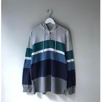 L.L BEAN / Hooded  rugger shirts (spice)