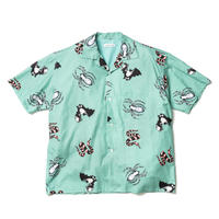 "F-LAGSTUF-F ""TATTOO"" S/S SHIRTS (green)"