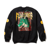 "F-LAGSTUF-F  x DRAGON BALL / ""Shenron"" L/S SWEAT (black)"