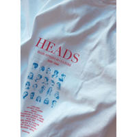 HEADS L/S Tee (blue)