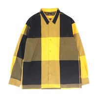 MASSES /  BIG CHECK SHIRT (yellow)