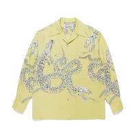 WACKO MARIA / HAWAIIAN SHIRT L/S ( TYPE-6 )  (yellow)