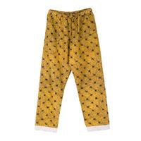 PHINGERIN / NIGHT PANTS NEL FLOOR (yellow)