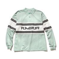 F-LAGSTUF-F / L/S POLO SHIRTS (Sax)