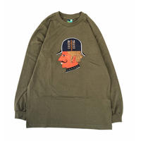 VOYAGE /intelligence L/S Tee (MILITARY GREEN)