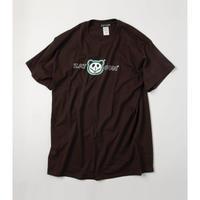 ZATUON x 川崎あや / panda ss tee (brown)