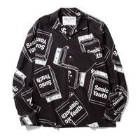 "F-LAGSTUF-F × Sonic Youth ""L/S shirt"" (black)"