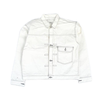 CSF for THREE FACE/ denim jacket (white)