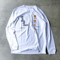 POVAL /  Hudson L/S Tee (white)
