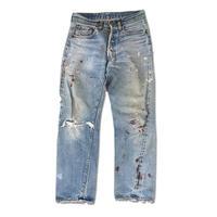 "Levi's 501 ""66後期"" Grunge Denim pants (spice)"