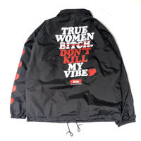 "FRT / ANSWER Coach jacket "" (black )"