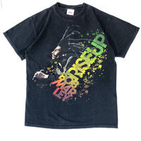 "00's BOB MARLEY "" RISE UP Tee ""  (spice) #A1"