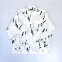 "MASSES /  "" Lightning Bolt Shirt "" (green)"