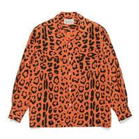 """WACKO MARIA """"Hawaiian Shirt (type-1) """" (orange)"""