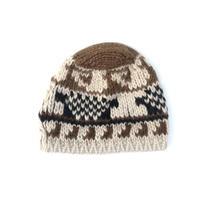 "HERMES ""Alpaca Knit cap""  (Hi brand hurugi)"