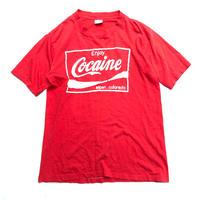 """80's """"COCAINE  """"パロディ  Tee """"  (spice)"""
