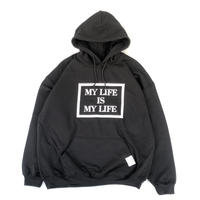 FORTY PERCENT AGAINST RIGHTS / MY LIFE BOX HOODED 04 (black)