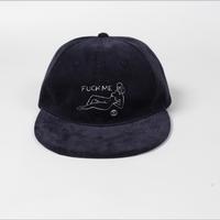WACKO MARIA/ CORDUROY 6 PANEL CAP (TYPE-4)(black)