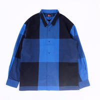 MASSES /  BIG CHECK SHIRT (blue)