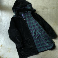 "90's GAP "" velour hooded jacket ""  (spice)"