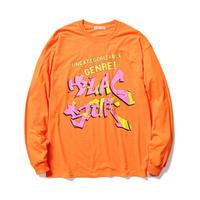 """F-LAGSTUF-F / """" GENRE """" L/S Tee (orange)"""