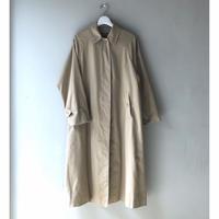 "Burberry vintage ""一枚袖"" Balmacaan Coat (ladies) (spice)"