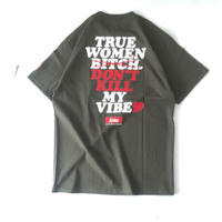"""FRT  """"ANSWER /SS Tee """" (olive)"""
