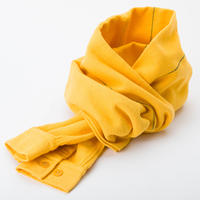 PHINGERIN / Sleeve Scarf Space Plaid Nel (yellow)
