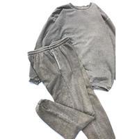 """McINTOSH & SEYMOUR """"Set-up sweat suit"""" (spice) #H1"""