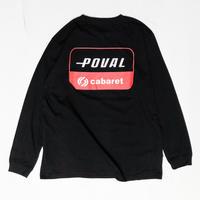 CABARET POVAL /  Sky L/S Tee(black)