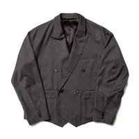 "F-LAGSTUF-F ""Double brested custom JKT""  (gray stripe)"