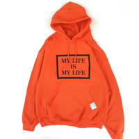 FORTY PERCENT AGAINST RIGHTS / MY LIFE BOX HOODED 04 (orange)