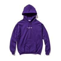 F-LAGSTUF-F / BOX LOGO HOODIE (purple)
