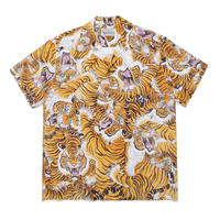 "WACKO MARIA × TIM LEHI ""S/S Hawaiian shirt ""(type-1)"