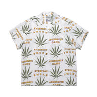 WACKO MARIA ×舐達麻 / Hawaiian shirt (white)