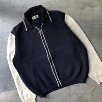 """HERMES """" Full Zip knit  jacket """""""